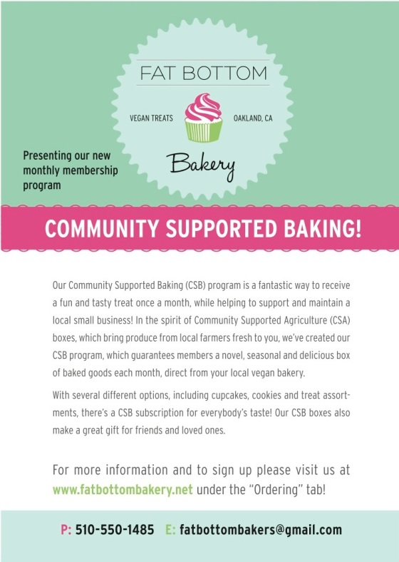 Community Supported Baking